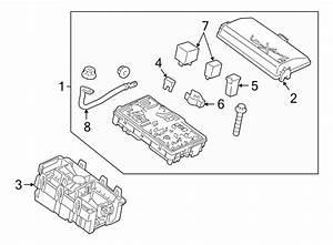 2012 Chevrolet Cruze Fuse Box  Manual Trans  Telematics