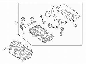 2012 Chevrolet Cruze Fuse Box  Manual Trans