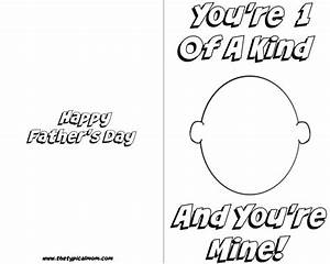 Free printable Fathers Day card · The Typical Mom