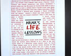 nana 39 s lessons nana things