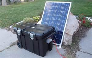 5000 Watt Portable Solar Power Generator