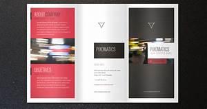 Corporate tri fold brochure template 2 brochure for Tri folded brochure templates