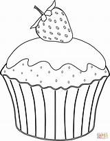 Muffin Coloring Pages Strawberry Cup Muffins Cupcake Drawing Cakes Cupcakes Printable Sheet Erdbeere Ausmalbild Mit Print Template Neocoloring Supercoloring Azcoloring sketch template