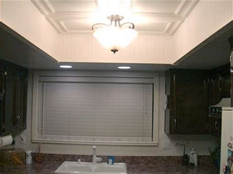 how to replace recessed fluorescent kitchen lighting for