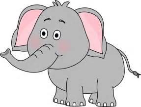 Cute Elephant Clip Art