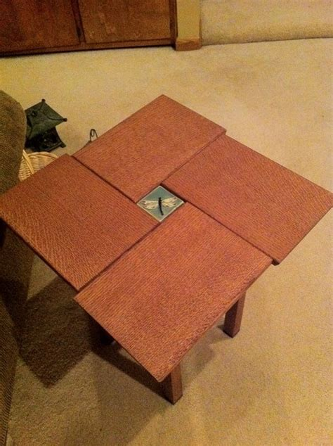 arts and crafts table ls arts and crafts end tables by docgrins lumberjocks com