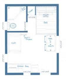 cabin floorplan our guest cabin