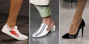 La Mode Est A Vous Printemps Ete 2018 : les plus belles chaussures printemps t 2018 rep r es sur les d fil s ~ Farleysfitness.com Idées de Décoration