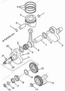 Polaris Atv 1997 Oem Parts Diagram For Crankshaft  U0026 Piston Magnum 4x4   Swedish Magnum 4x4