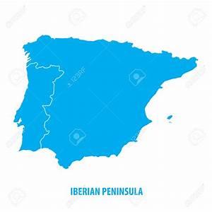 Iberian Peninsula coloring, Download Iberian Peninsula ...