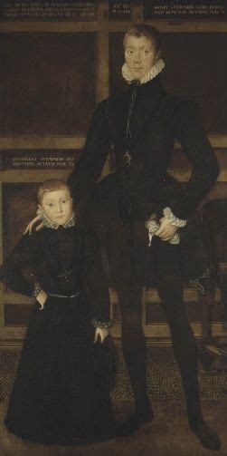 Henry, Lord Darnley (1545-67) and his brother Charles, 5th ...