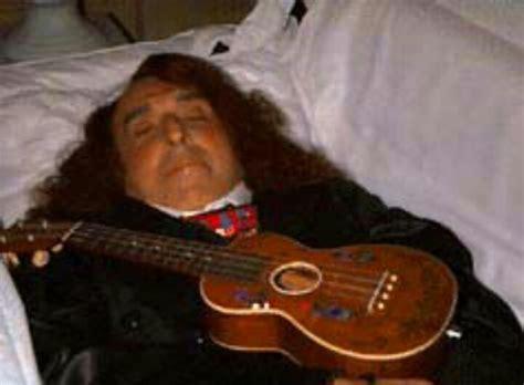 John Lennon Open Casket