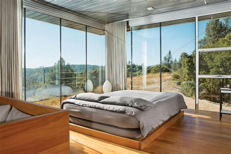 Bedroom Ls Glass by 25 Cool Glass Bedroom Designs To About