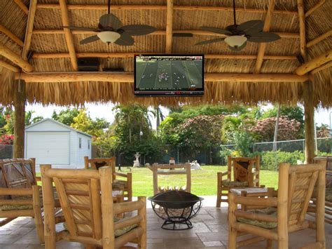 Tong Tiki Hut by The Coolest Tiki Huts In South Florida