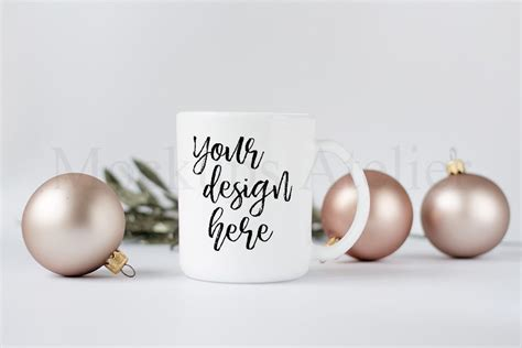 beautiful christmas mockups  premium templates