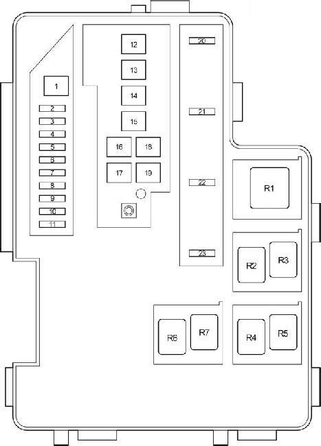 2006 2012 toyota rav4 xa30 fuse box diagram 187 fuse diagram