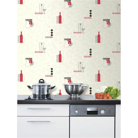 papier peint vinyle intissé cuisine davaus papier peint cuisine gris avec des idées