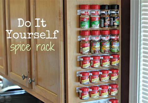 House Spice Rack by 10 Porta Spezie Fai Da Te
