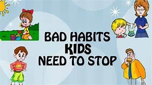 Unhealthy Habits For Kids Clipart - ClipartXtras