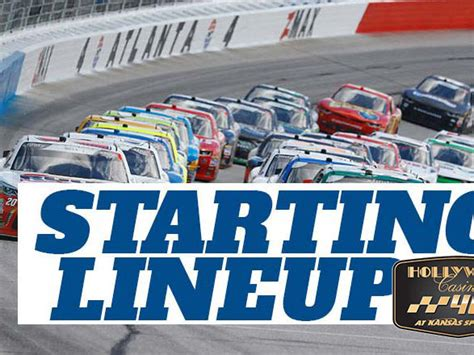 NASCAR Starting Lineup for Sunday's Hollywood Casino 400 ...