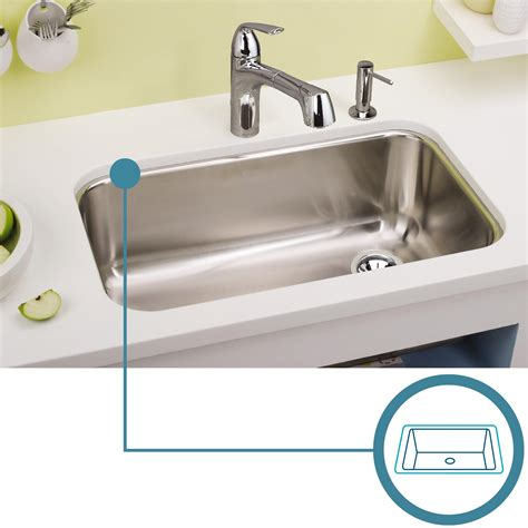 pics of kitchen sinks elkay lustertone lrad2219604 single bowl top mount 4182