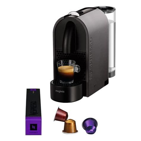 Magimix U Nespresso by Nespresso U Magimix Of Krups Plezier In De Keuken