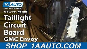 How To Install Replace Taillight Circuit Board 2002