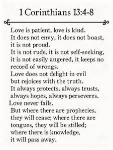 1 Corinthians 13 Bible Verse