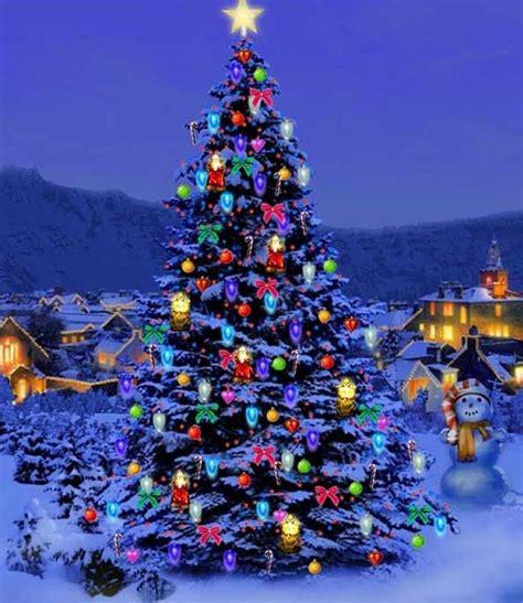 the christmas tree santa claus loves christmas