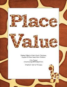 64 Best Images About Place Value On Pinterest  Teen Numbers, Place Value Games And The Room Place