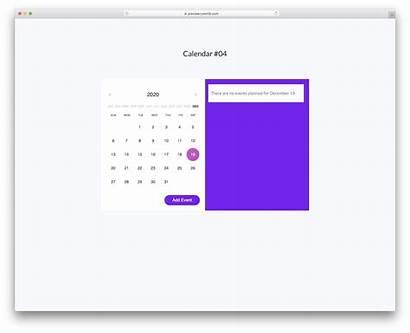 Calendar V04 Template Colorlib