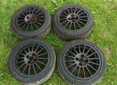 16 Inch Oz Superturismo Alloy Wheels With Tyres Ford