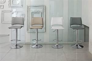 Chaise Bar Reglable : chaise de bar r glable en hauteur cuisine en image ~ Teatrodelosmanantiales.com Idées de Décoration