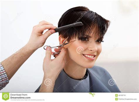 Hair Cutting U Style