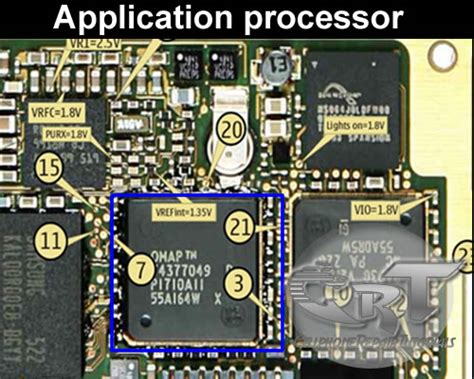 application processor  mobile phones circuit