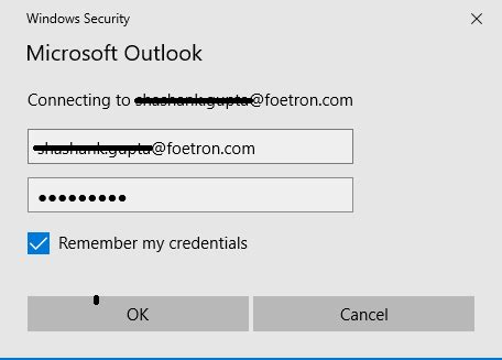 Office 365 Outlook Prompting For Credentials by Outlook Continually Prompts For My Password Foetron
