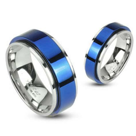 hot mens  stainless steel silver wedding band ring
