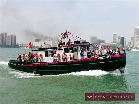 Tug Boat Race Windsor by Tall Ships And Tug Boat Races On Windsor S Riverfront