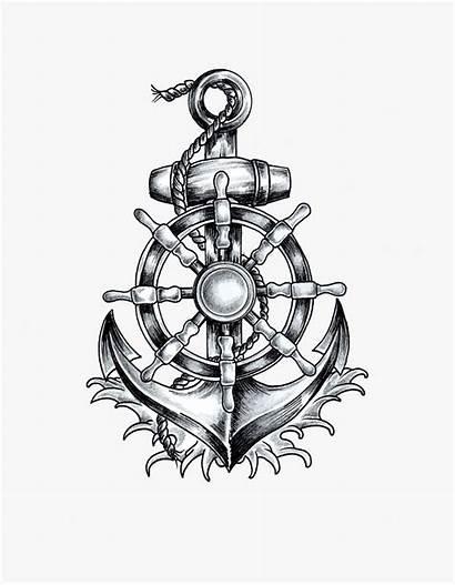 Anchor Draw Ship Wheel Chain Infinity Clipart