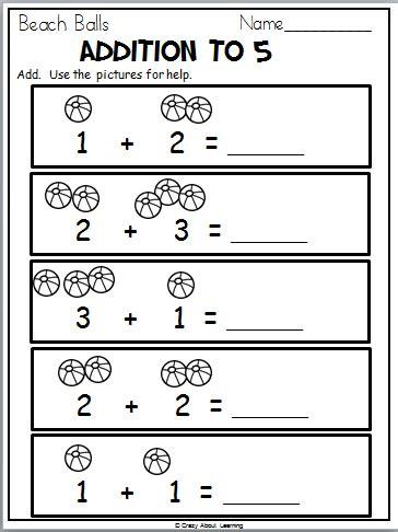 ready for kindergarten math workbook summer math worksheets madebyteachers