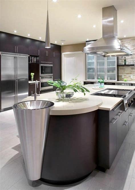 cuisine en l avec ilot central la cuisine équipée avec îlot central 66 idées en photos