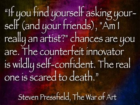 Steven Pressfield The War Of Art Quotes