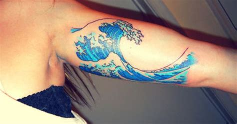 Hey! This Is My Second Tattoo Its Based Off Of Hokusai's