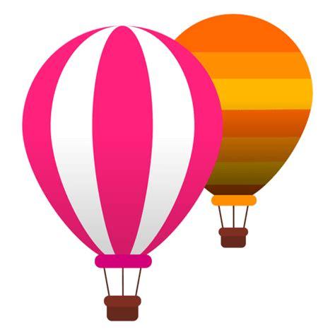 Vuelo en globo aerostático Descargar PNG/SVG transparente