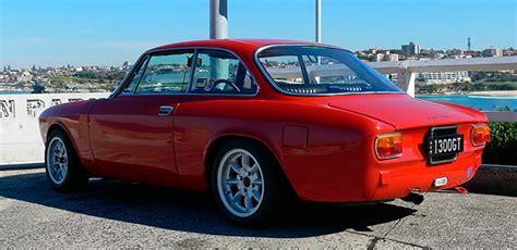 Alfa Romeo 1300 GT Junior | classicspeedshop.com.au