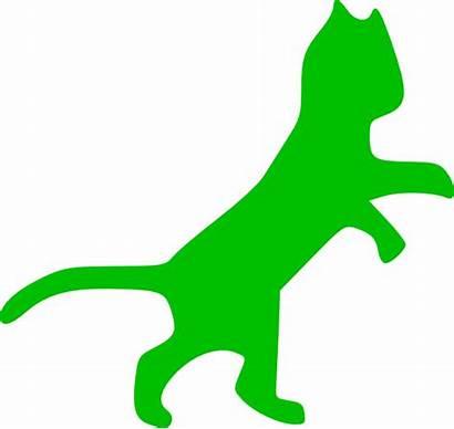 Cat Clip Clipart Clker Vector
