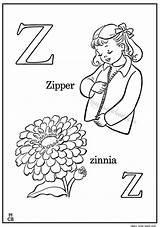 Coloring Zipper Zinnia Alphabet Drawing Printable Writing Getdrawings Dari Magiccolorbook Disimpan Preschool Technical Letter Getcolorings sketch template