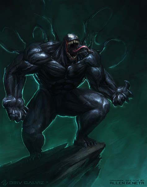 She Hulk Wallpaper Venom Fan Art By Deivcalviz On Deviantart