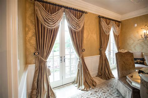 Custom Window Drapery by Custom Window Treatments Created Installed By Our