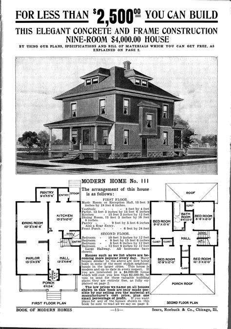 americana build   house vintage sears roebuck catalogs